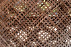 Bambusowy koszykarstwo Obraz Stock