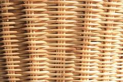 Bambusowy koszykarstwo Zdjęcie Royalty Free