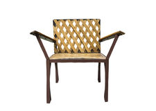 Bambusowy krzesło Fotografia Stock