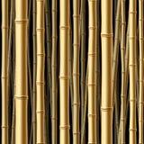bambusowy lasowy bezszwowy Obrazy Royalty Free
