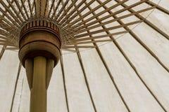 Bambusowy parasol Zdjęcie Royalty Free