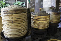Bambusowy Parostatek Zdjęcie Royalty Free