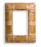 bambusowy photoframe Obrazy Stock