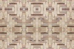 Bambusowy stary wyplata ściennej tekstury pięknego deseniowego tło Zdjęcia Stock