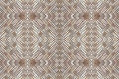 Bambusowy stary wyplata ściennej tekstury pięknego deseniowego tło Zdjęcie Royalty Free