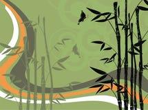 Bambusowy tło 5 ilustracja wektor