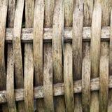 bambusowy weave Obrazy Stock