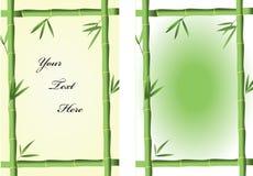 Bambusrahmen lizenzfreie abbildung