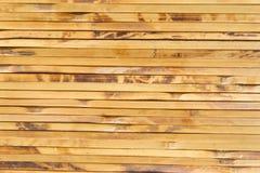 Bambusstreifen, die Hintergrund bilden Stockfotografie