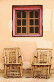 Bambusstuhl Stockbilder