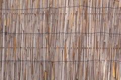 Bambustaket 2 arkivbilder
