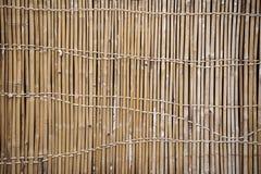 Bambustaket Art Arkivbilder