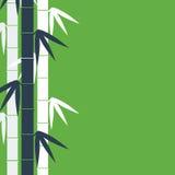 Bambustambakgrund Arkivbilder