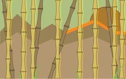 Bambustapete Lizenzfreies Stockfoto