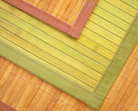 Bambusteppiche stockbild