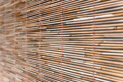 Bambusvorhang Stockfotografie