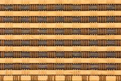 Bambusvorhangmuster Lizenzfreie Stockbilder
