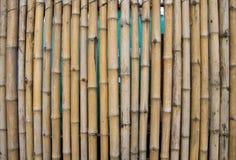Bambuswandbeschaffenheitshintergrund Lizenzfreie Stockbilder