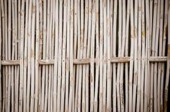Bambuswandhintergrund Stockbild