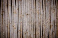 Bambuswandhintergrund Stockbilder