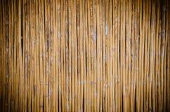 Bambuswandhintergrund Stockfoto