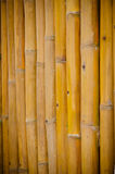 Bambuswandhintergrund Lizenzfreies Stockfoto