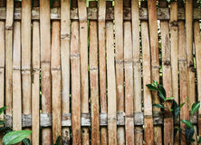 Bambuswandplanken-Beschaffenheitshintergrund Lizenzfreies Stockfoto