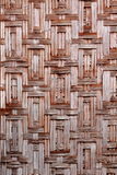 Bambuswebart Stockfoto