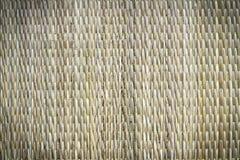 Bambuswebarthintergrund Stockfoto