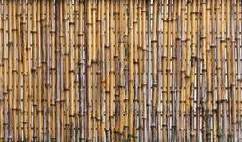 Bambuszaun Lizenzfreies Stockfoto