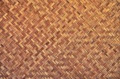 Bambuträ texturerar Royaltyfria Bilder