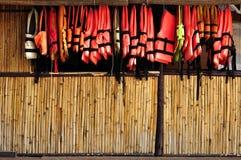 bambuvägg Royaltyfria Foton
