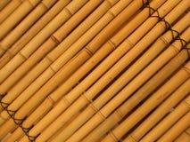 bambuvägg Royaltyfri Bild