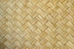 bambuväv Royaltyfria Bilder