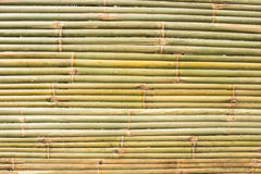 Bambuväv arkivbild