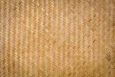 Bambuvävbakgrund Royaltyfri Foto