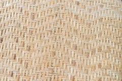 Bambuvävbakgrund Arkivbild