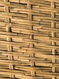 Bambuvävbakgrunden royaltyfria foton