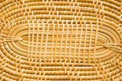 Bambuvävmodell. Royaltyfria Bilder