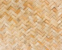 Bambuvävplats Royaltyfri Bild