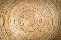 Bambuvävtextur Arkivbild
