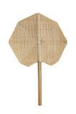 Bambuventilator Royaltyfria Bilder