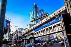 Bamgkok-Stadt im Stadtzentrum gelegen Stockfotografie