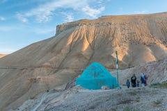 Bamiyan valley, hindu kush mountain region Stock Image