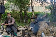 Bamyan afghanistan blacksmith Stock Photos