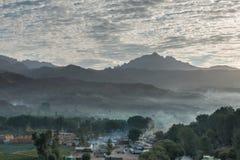 Bamyan dal, Sunrice Arkivbild