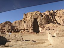 Bamyan das ancent von Afghanistan Lizenzfreies Stockfoto