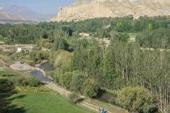 Bamyan valley, hindu kush mountain Stock Photos