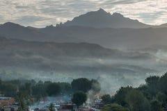 Bamyan valley, Sunrice Royalty Free Stock Photos