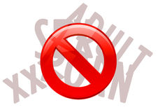 Ban. The things to social improvement Royalty Free Stock Images